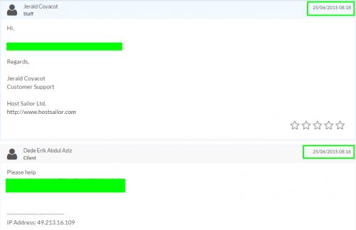 cara open ticket hostsailor, cara menghubungi support vps, mengatasi masalah vps, cara menghubungi cs vps