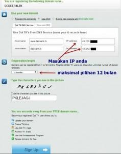 registrasi domain gratis